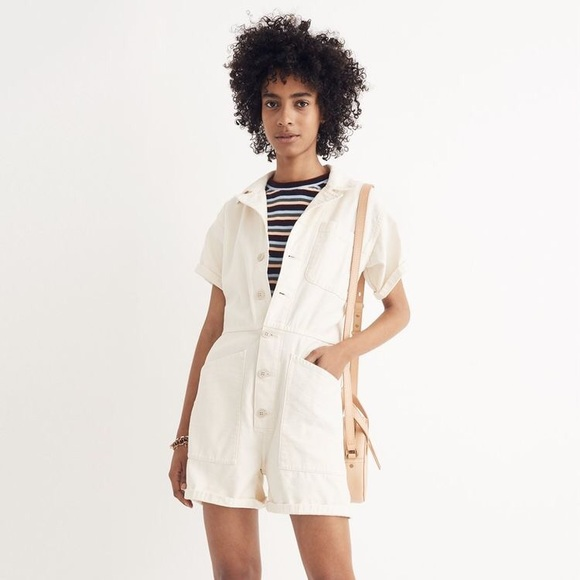 af92d8d1eb9 madewell x as ever™ short coveralls